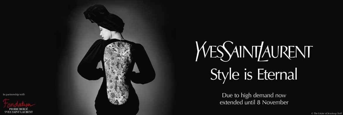 Yves Saint Laurent Banner